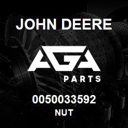 0050033592 John Deere Nut   AGA Parts