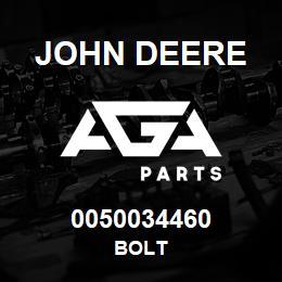 0050034460 John Deere Bolt | AGA Parts