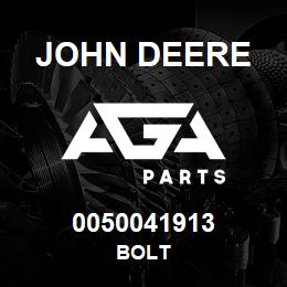 0050041913 John Deere Bolt | AGA Parts