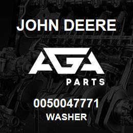 0050047771 John Deere Washer | AGA Parts