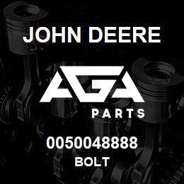 0050048888 John Deere Bolt | AGA Parts