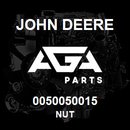 0050050015 John Deere Nut | AGA Parts