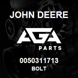 0050311713 John Deere Bolt | AGA Parts