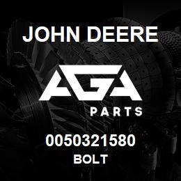 0050321580 John Deere Bolt | AGA Parts