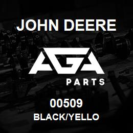 00509 John Deere BLACK/YELLO | AGA Parts