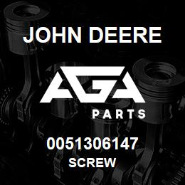 0051306147 John Deere Screw | AGA Parts