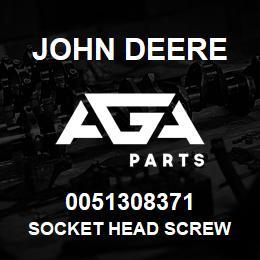 0051308371 John Deere Socket Head Screw | AGA Parts