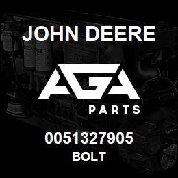 0051327905 John Deere Bolt | AGA Parts