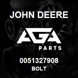 0051327908 John Deere Bolt | AGA Parts