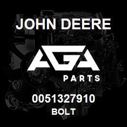 0051327910 John Deere Bolt | AGA Parts
