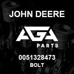 0051328473 John Deere Bolt | AGA Parts