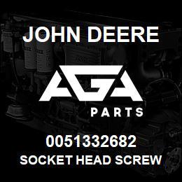 0051332682 John Deere Socket Head Screw | AGA Parts
