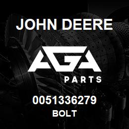 0051336279 John Deere Bolt | AGA Parts