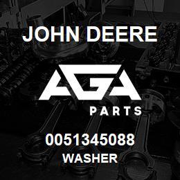 0051345088 John Deere Washer | AGA Parts