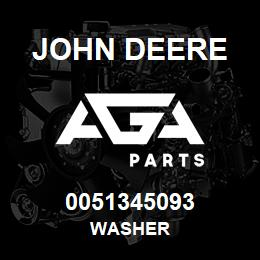 0051345093 John Deere Washer | AGA Parts