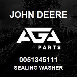 0051345111 John Deere Sealing Washer | AGA Parts