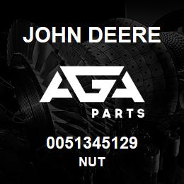 0051345129 John Deere Nut | AGA Parts