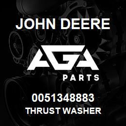 0051348883 John Deere Thrust Washer | AGA Parts