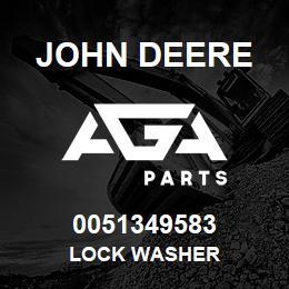 0051349583 John Deere Lock Washer | AGA Parts