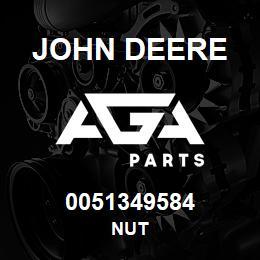 0051349584 John Deere Nut | AGA Parts