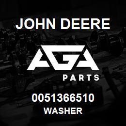 0051366510 John Deere WASHER | AGA Parts