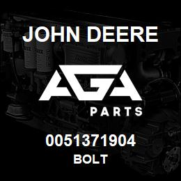 0051371904 John Deere BOLT | AGA Parts