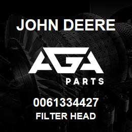 0061334427 John Deere Filter Head | AGA Parts