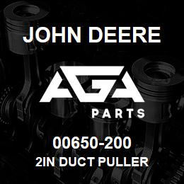 00650-200 John Deere 2in DUCT PULLER | AGA Parts