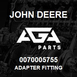 0070005755 John Deere Adapter Fitting | AGA Parts