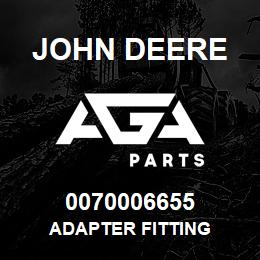 0070006655 John Deere Adapter Fitting | AGA Parts
