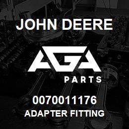 0070011176 John Deere Adapter Fitting | AGA Parts