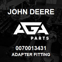 0070013431 John Deere Adapter Fitting | AGA Parts