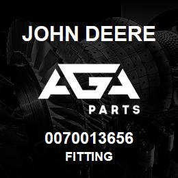 0070013656 John Deere Fitting | AGA Parts