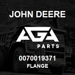 0070019371 John Deere Flange | AGA Parts