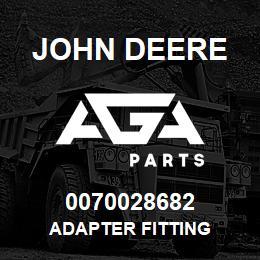 0070028682 John Deere ADAPTER FITTING | AGA Parts