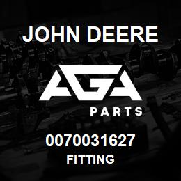 0070031627 John Deere Fitting | AGA Parts
