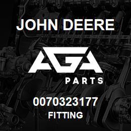 0070323177 John Deere Fitting | AGA Parts