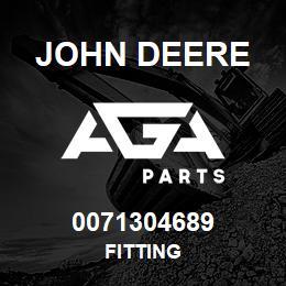 0071304689 John Deere Fitting | AGA Parts
