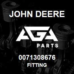 0071308676 John Deere Fitting | AGA Parts