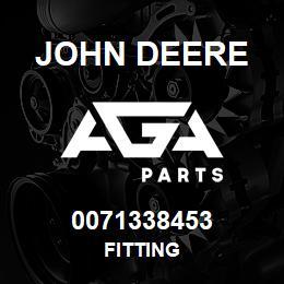 0071338453 John Deere Fitting | AGA Parts