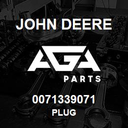 0071339071 John Deere Plug | AGA Parts