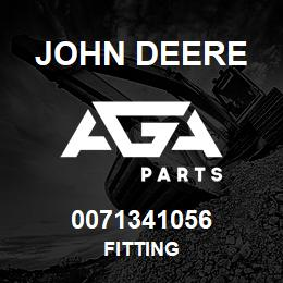 0071341056 John Deere Fitting | AGA Parts