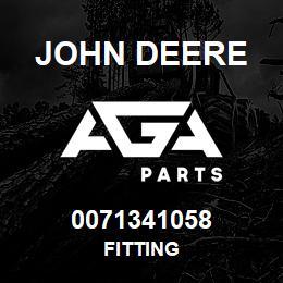 0071341058 John Deere Fitting   AGA Parts