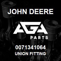 0071341064 John Deere Union Fitting   AGA Parts