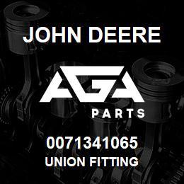 0071341065 John Deere Union Fitting   AGA Parts