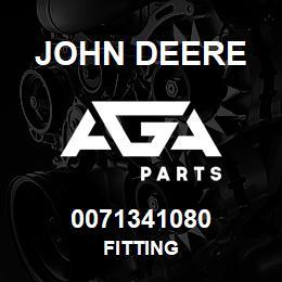 0071341080 John Deere Fitting   AGA Parts