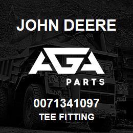 0071341097 John Deere Tee Fitting | AGA Parts
