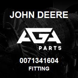 0071341604 John Deere Fitting | AGA Parts