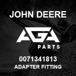 0071341813 John Deere Adapter Fitting | AGA Parts