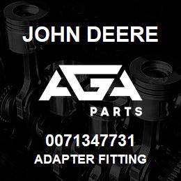0071347731 John Deere Adapter Fitting | AGA Parts